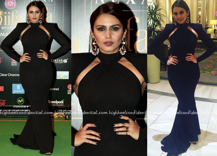 Huma Qureshi In Michael Costello At IIFA 2016