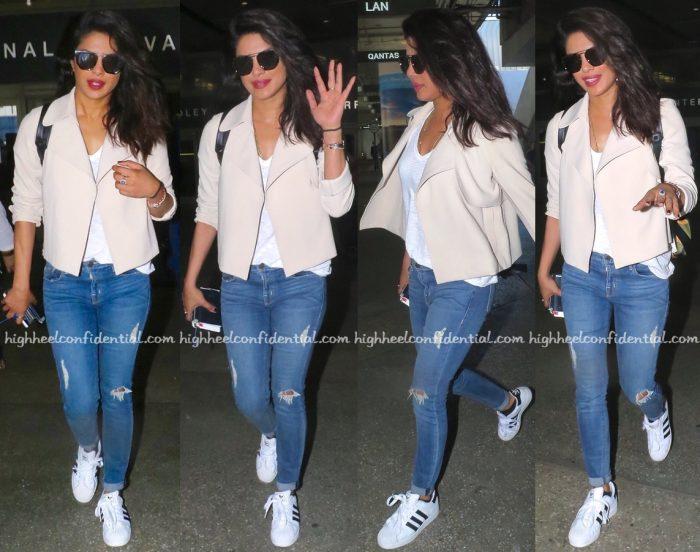 Priyanka Chopra (In Theory) Photographed At The Airport