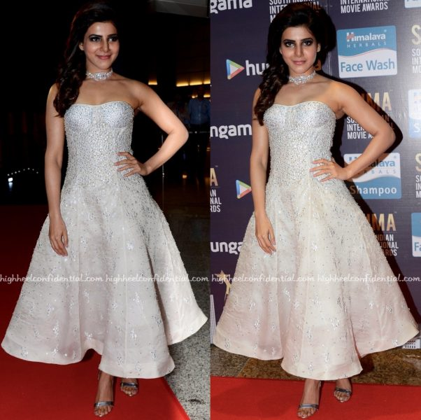 Samantha Ruth Prabhu In Shriya Som At SIIMA 2016 Day One-1