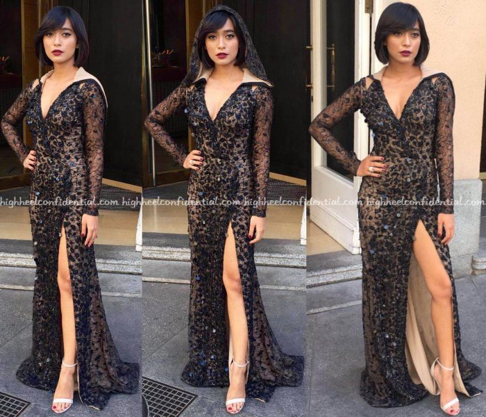 Sayani Gupta Wears Amit Aggarwal And LaBourjoisie To IIFA 2016, Madrid-2