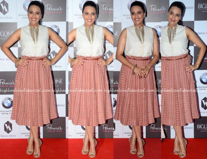Swara Bhaskar Wears Indigene To Pernia Qureshi's Fashion Show