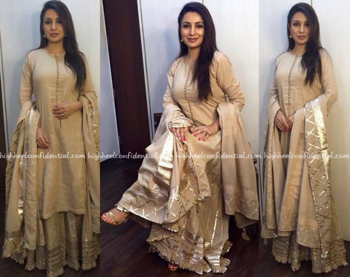 Tisca Chopra Wears Sukriti & Aakriti To New York Indian Film Festival 2016