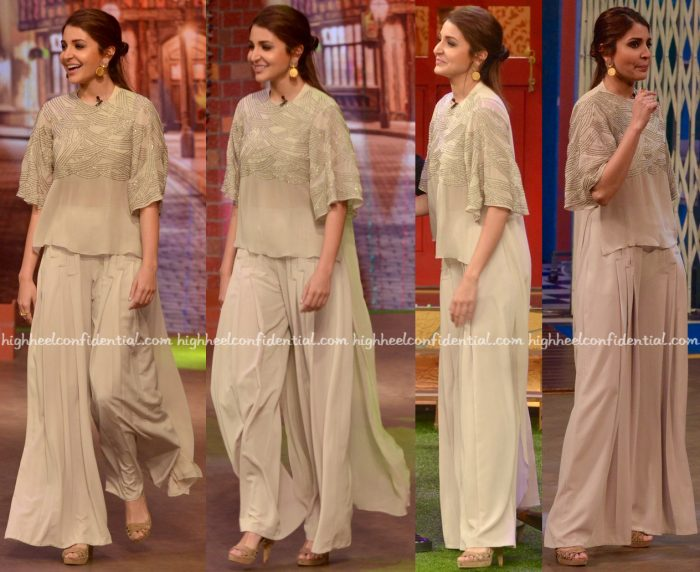Anushka Sharma Wears Ridhi Mehra To 'The Kapil Sharma Show' Sets For Sultan Promotions-1