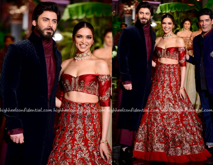 Deepika Padukone And Fawad Khan Walk For Manish Malhotra At India Couture Week 2016-2