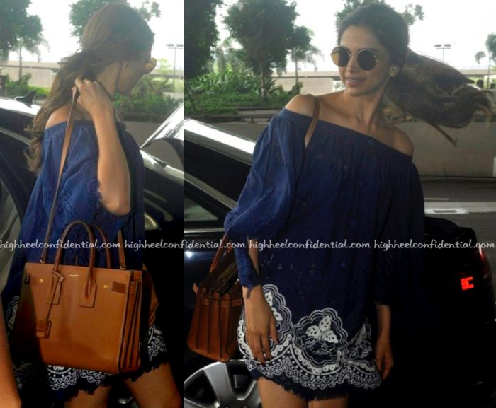 Deepika Padukone (In Hemant And Nandita) Photographed At The Airport-2