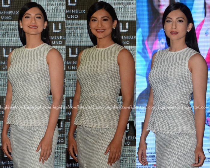 Gauahar Khan In Geisha Designs And Zara At 'Fever' Promotions-2
