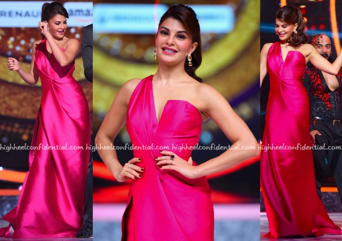 Jacqueline Fernandez Wears Monisha Jaising On Jhalak Dikhhla Jaa Sets-2