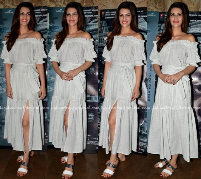 Kriti Sanon At 'Madaari' Screening