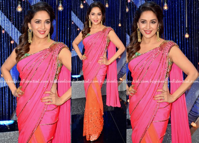 Madhuri Dixit Wears Papa Don't Preach To 'So You Think You Can Dance' Sets