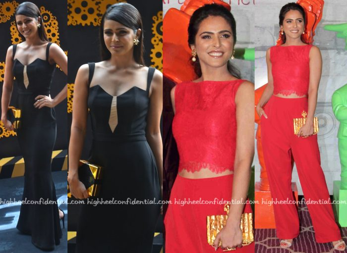 Madhurima Tuli At 24 Season Two Press Meet (In Carousel) And At Dashanzi Launch (In Swatee Singh)