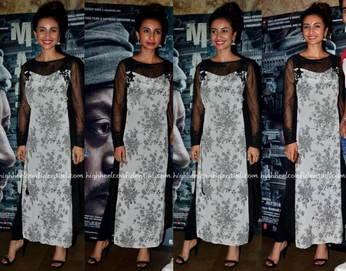 Patralekhaa Wears Ritu Kumar To 'Madaari' Screening