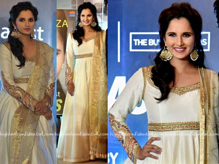 Sania Mirza Wears Rimple And Harpreet Narula To Her Book, 'Ace Against Odds' Launch