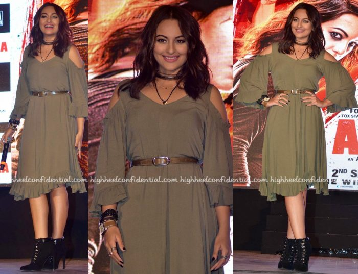 Sonakshi Sinha At 'Akira' First Look Launch-1
