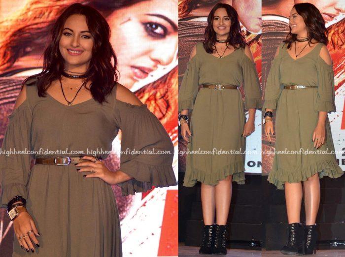 Sonakshi Sinha At 'Akira' First Look Launch-2