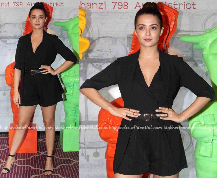Surveen Chawla Wears Madison To Dashanzi Launch