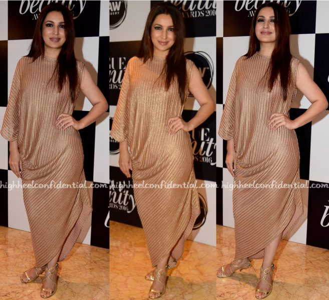 Tisca Chopra At Vogue Beauty Awards 2016
