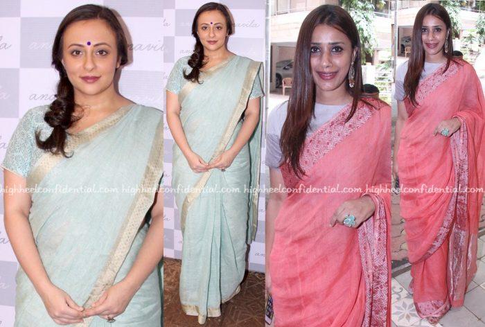 Avantika Malik And Ashvini Yardi At Anavila Store Launch