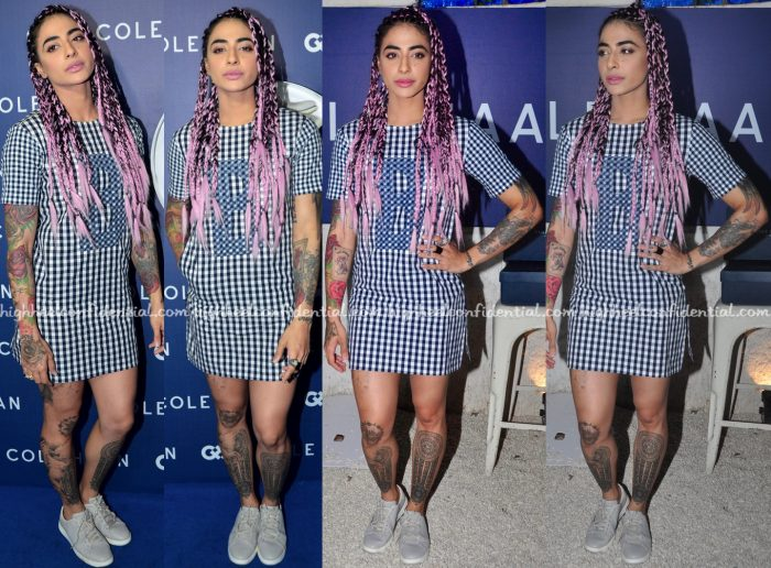 Bani J Wears Manish Bansal To Cole Haan Launch