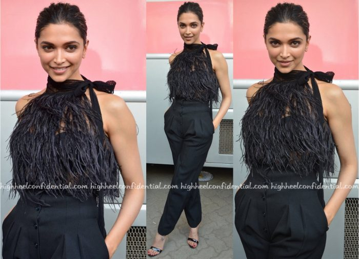 Deepika Padukone Photographed In Michael Kors And Victoria Beckham