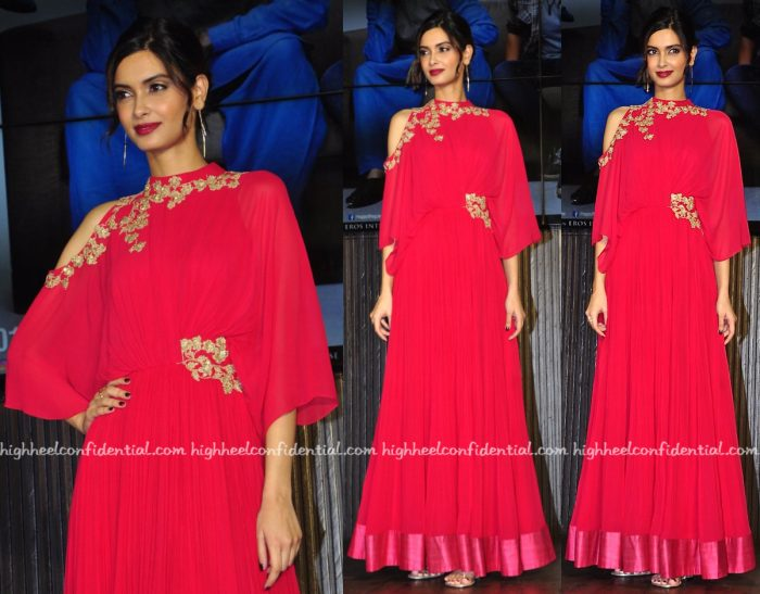 Diana Penty In Ridhi Mehra At 'Happy Bhag Jayegi' Music:Song Launch-1
