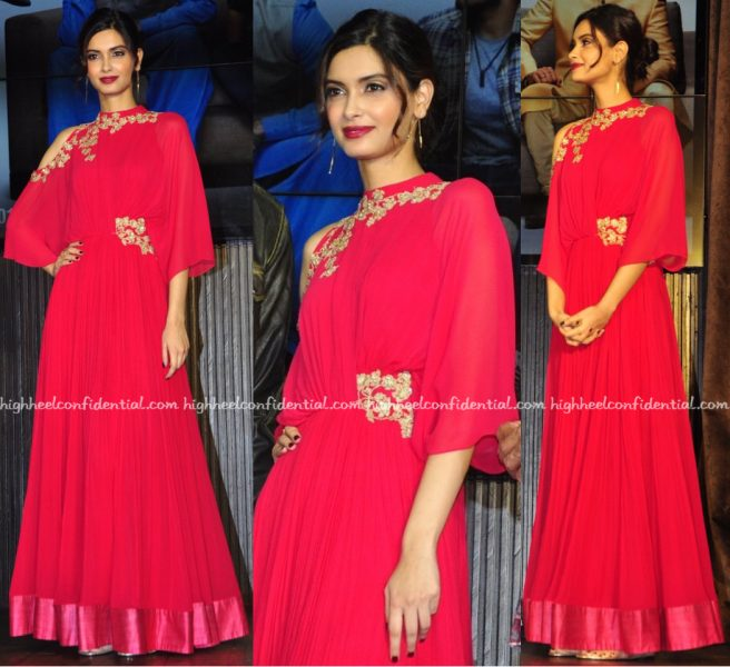 Diana Penty In Ridhi Mehra At 'Happy Bhag Jayegi' Music:Song Launch-2