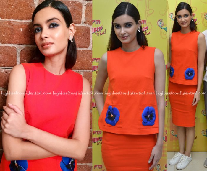 Diana Penty Wears Gauri And Nainika To 'Happy Bhag Jayegi' Promotions-2
