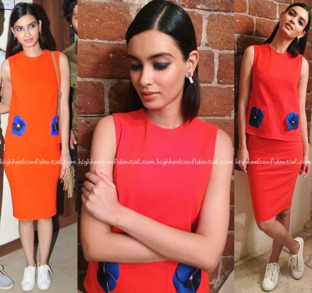 Diana Penty Wears Gauri And Nainika To 'Happy Bhag Jayegi' Promotions
