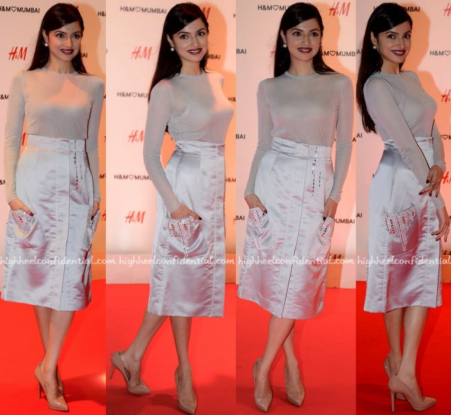 Divya Khosla Kumar At H&M Mumbai Launch