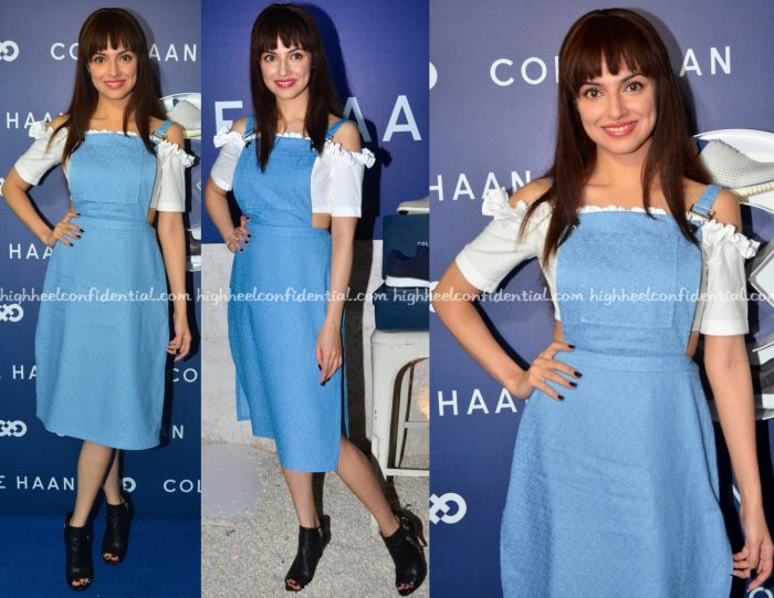 Divya Khosla Kumar Wears Nishka Lulla And Masaba To Cole Haan Launch
