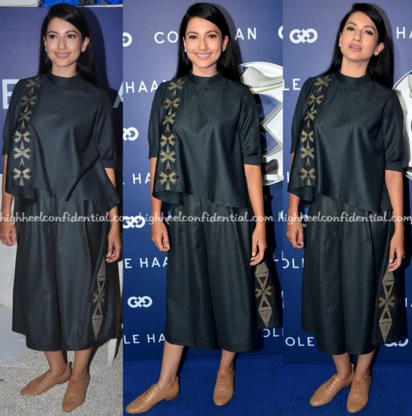 Gauahar Khan In RuVya By Ruchika And Divya At Cole Haan Launch