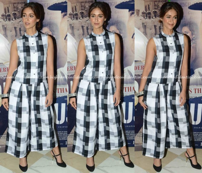 Ileana D'Cruz Wears ASOS To Rustom Promotions-1