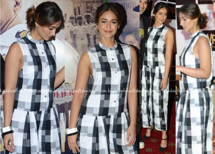 Ileana D'Cruz Wears ASOS To Rustom Promotions-2