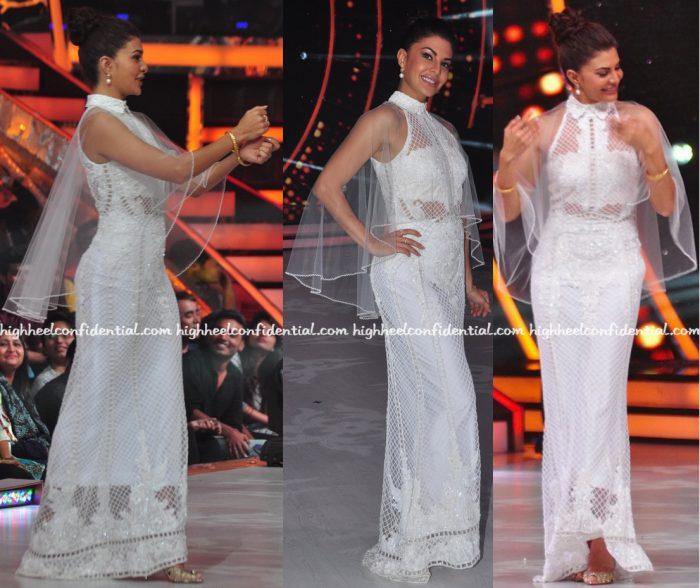 Jacqueline Fernandez Wears Karleo On Jhalak Dikhhla Jaa Sets-2