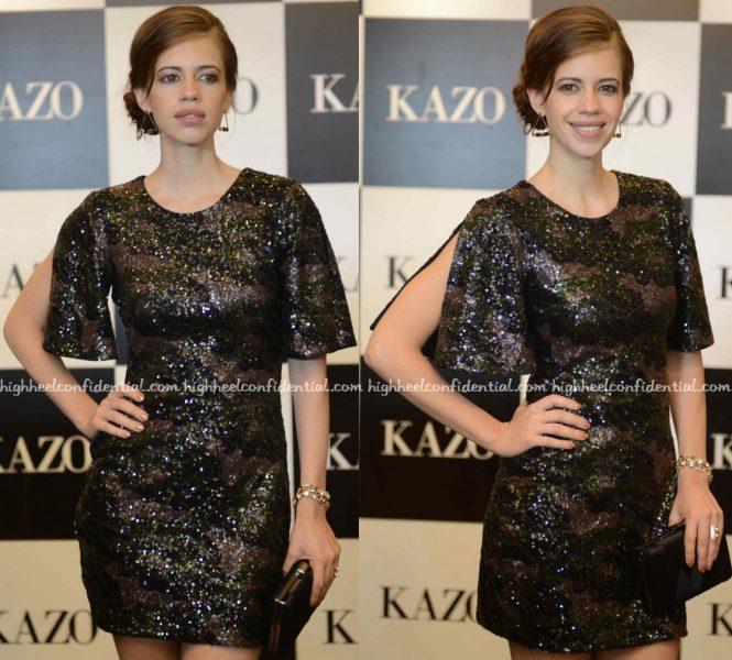 Kalki Koechlin At Kazo A:W 16 Collection Launch-2