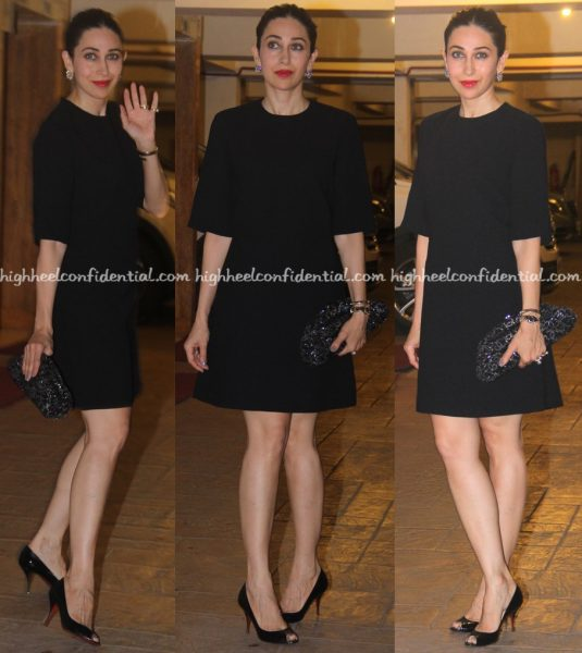 Karisma Kapoor Photographed At Saif Ali Khan's Birthday Do