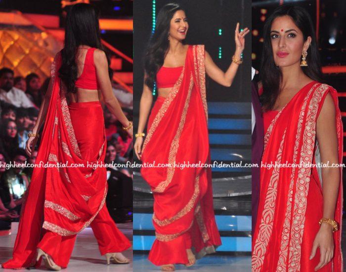Katrina Kaif Wears Anamika Khanna To Jhalak Dikhhla Jaa Sets For 'Baar Baar Dekho' Promotions-1