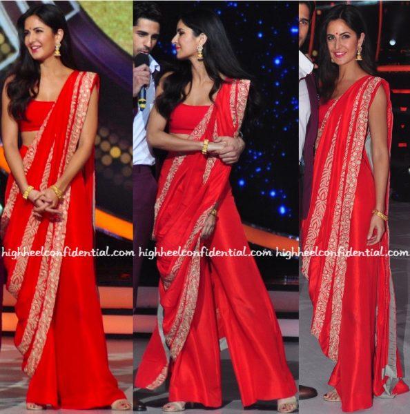 Katrina Kaif Wears Anamika Khanna To Jhalak Dikhhla Jaa Sets For 'Baar Baar Dekho' Promotions-2