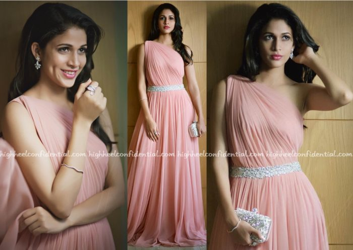 Lavanya Tripathi In Vineti Bolaki At 'Srirastu Subhamastu' Audio Launch-1