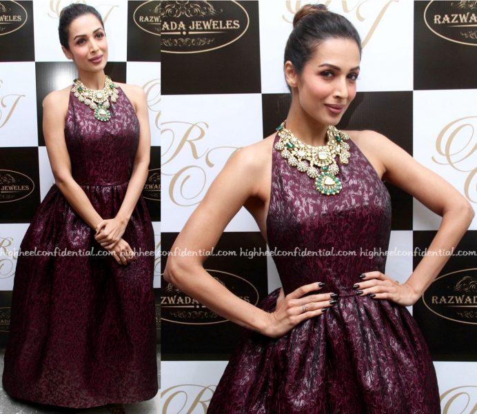 Malaika Arora Wears Azzi & Osta To Razwada Store Launch-1