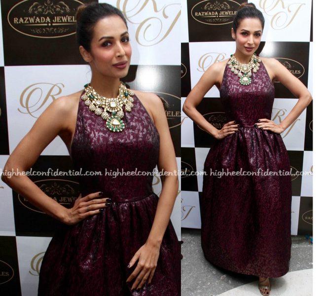 Malaika Arora Wears Azzi & Osta To Razwada Store Launch-2