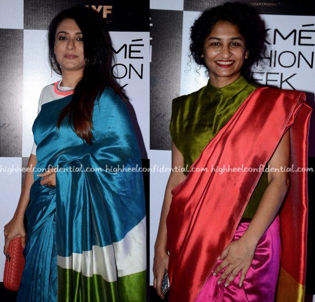 Mini Mathur And Gauri Shinde Attend Payal Khandwala's Show At Lakme Fashion Week Winter:Festive 2016-2
