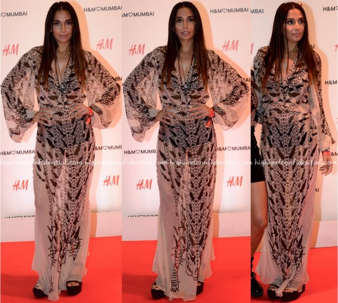 Monica Dogra At H&M Mumbai Store Launch