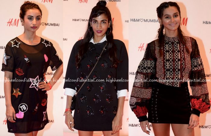 Patralekhaa, Anushka Manchanda And Shibani Dandekar At H&M Mumbai Launch-2