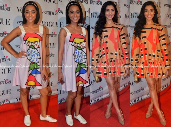 Pernia Qureshi And Sayani Gupta Wear Masaba To The Designer's Festive Collection Launch