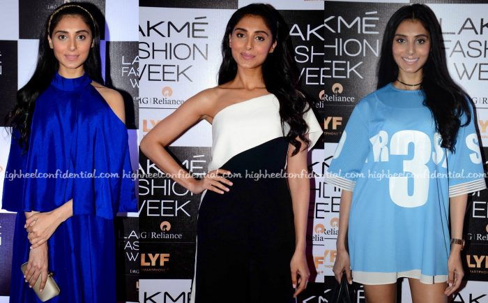 Pernia Qureshi Photographed In Manish Malhotra, Atsu And Kanika Goyal At Lakme Fashion Week Winter:Festive 2016-2