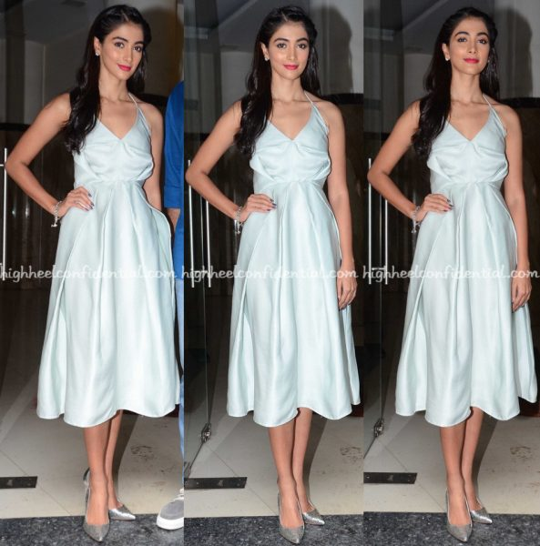 Pooja Hegde In Edeline Lee At Mohenjo Daro Promotions-1