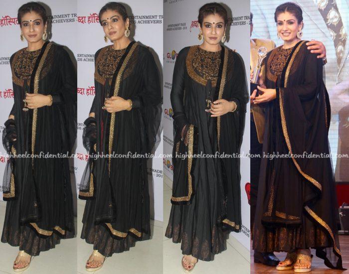 Raveena Tandon At Entertainment Trade Awards 2016