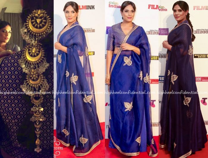 Richa Chadha Wears Raw Mango To Indian Film Festival of Melbourne 2016