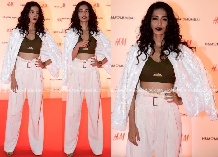 Sarah Jane Dias At HM Mumbai Launch