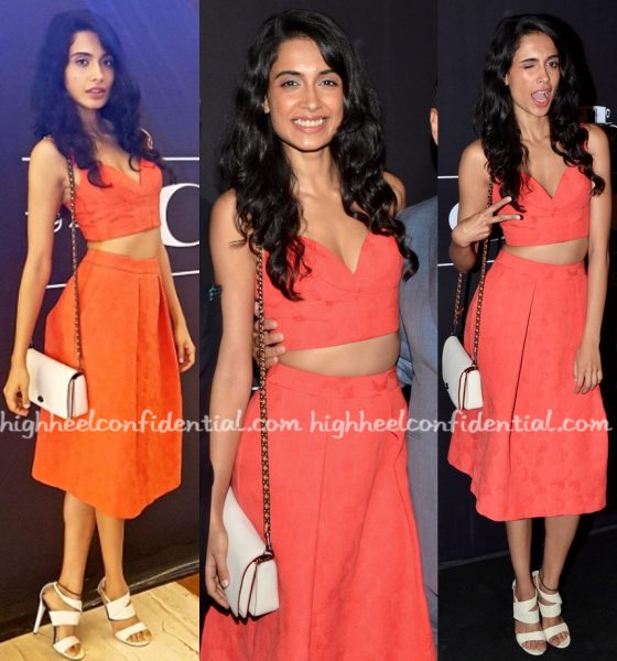 Sarah Jane Dias Wears Michael Kors To Coach Launch